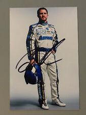 2013 Brian Vickers 4x6 Daytona Media Day Photo autograph NASCAR Aarons
