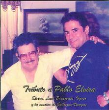 Tributo a Pablo Elvira Musica Guillermo Venegas Musica Clasica CD Puerto Rico