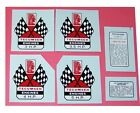Tecumseh Flags WATER TRANSFER DECALS - Sets or Individually - Mini Bike Go Kart