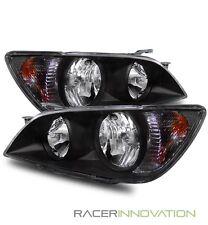 For 01-05 Lexus IS300 JDM Altezza Aftermarket Crystal Headlights Black
