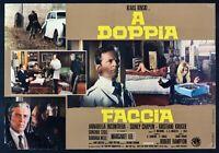 Fotobusta A Double Face Klaus Kinski Incontrera Chaplin Sidney Kruger R18