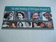 Bahamas 2006 80th birthday hm queen elizabeth II sheet