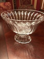 Vintage Bombay Footed Oval Bowl Guc