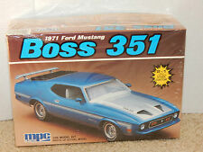 MPC 1971 Ford Mustang Boss 351 2 in 1 Model Kit