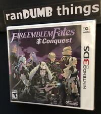 Fire Emblem Fates Conquest for Nintendo 3DS - BRAND NEW SEALED - Ships from NJ