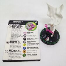 Heroclix X-Men Xavier's School set Magneto #023b Prime figure w/card!