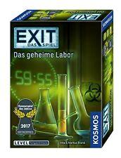 Kosmos 692742 Exit - das Spiel/das geheime Labor 4002051692742