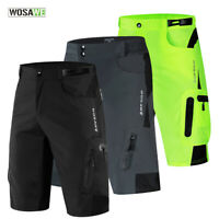 Mens Cycling Baggy Shorts MTB Mountain Bike Riding Sports Short Pants Underpants