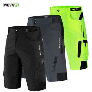 Mens Cycling Baggy Shorts MTB Mountain Bike Riding Sports Short Pants Underpants