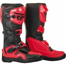 Fly Racing Maverik Boots - Red/Black, All Sizes