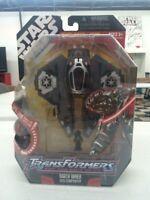 Transformers Star Wars - Darth Vader: Sith Starfighter Action Figure NEW IB