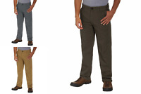 GH Bass & Co. Men's Stretch Canvas Pant Straight Fit Relaxed fit
