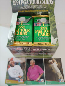 1991 PROSET GOLF 2 UNOPENED FOIL PACKS!!! LOTS OF ROOKIES IN THESE 2 PACKS!