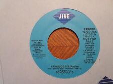 PROMO JIVE 7' 45 RECORD 1070-7-J/SCHOOLLY D /PARKSIDE 5-2/NR MINT RAP HIP HOP