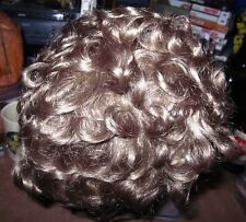 PARIS TRESS textured frizz-free WIG vtg blonde hairpiece NWT resettable