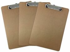 Trade Quest Letter Size Clipboard Low Profile Clip (Pack of 3)