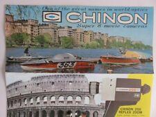 323 - Dépliant Caméras Chinon - 200/300/400/600/800 - Tokyo Japan  60/70