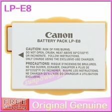Genuine Original Canon LP-E8 Battery for EOS 550D 600D 650D 700D X4 LPE8 LC-E8