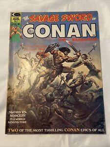 ** SAVAGE SWORD OF CONAN #1 ** Marvel 1974 - Bronze Age Key Conan The Barbarian