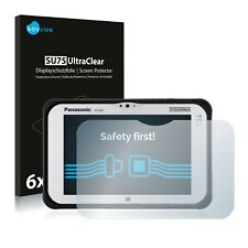 6x Savvies Screen Protector for Panasonic Toughpad FZ-M1 Ultra Clear
