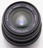Vivitar 24mm 24 mm Auto Wide Angle 1:2.8 - Canon FD