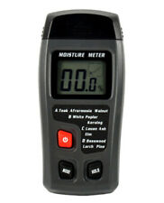Portable Digital Wood Moisture Meter LCD 0-99.9% Paperboard Humidity Monitor