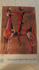 Kunst Plakat Edition Olympia 1972 von Marino Marini