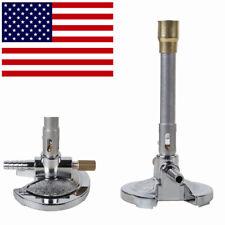 Sterile Dental Laboratory Bunsen Burner for Gas/Coal Gas/Oil Gas w Flame Control