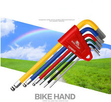 Bikehand YC-613-6C 6colors allen hex key wrench set 2/2.5/3/4/5/6mm bicycle tool