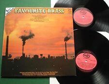 Favourite Brass Brighouse & Rastrick Cory Stalybridge Bands + MFP 4110443 LP x 2
