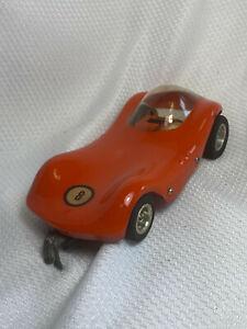 Vtg UNTESTED Classic Ferrari? Corvette ? Red Slot Car