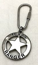 Texas Ranger Badge Key Ring