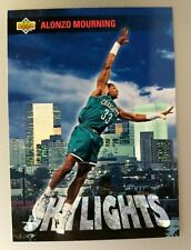 1993-94 UPPER DECK ALONZO MOURNING SKYLIGHTS CARD#468 GEORGETOWN HEAT HORNETS