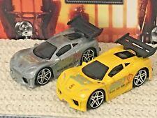 Hot Wheels LOT Ferrari 360 Modena First Editions Yellow & Zamac MNT Loose Shell