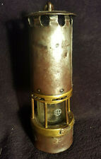 Lampe de mineur type WolfBruay /Béthune /Arras estampillée Verre Baccarat 1,5kg