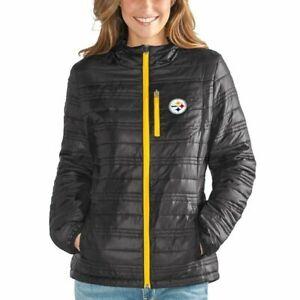 G-III 4her Pittsburgh Steelers Women's Formation Full Zip Jacket - Black