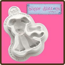 Katy Sue Designs SUGAR BUTTONS DOG Cake Crafting Mould CSB019 body 45mm x 50mm