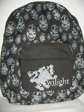 Twilight Summit entertainment Black/Grey Backpack White Shopping Bag Crest Stic