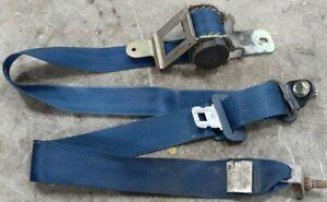 83-86 Datsun 720 Truck Passenger Right Front Seat Belt Retractor Blue