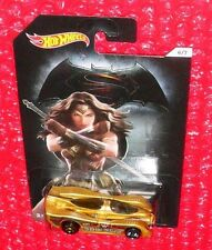 Hot Wheels POWER PISTONS #6 DJL50 WONDER WOMAN Dawn of Justice ERROR WRONG WHEEL