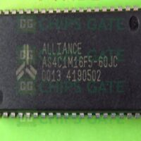 1PCS ALLIANCE AS4C1M16F5-60JC SOJ-42 5V 1M X 16 CMOS DRAM IC