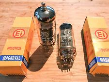 matched pair Ei EL519 (6KG6) - Original BOX - Tubes Röhren