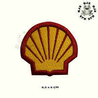 Shell Fuel Logo Patch Iron On Patch Sew On Embroidered Patch