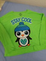 """Justice """"Stay Cool """" follow your dreams sleepwear shirt girls size 12"""