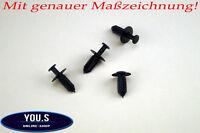 10 x Radhausschale Spreizniete Clip für Mercedes W210 W211 W203 - 1249900492