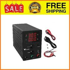 Dc Power Supply Variable Adjustable 30v 10a Switching Dc Regulated Power