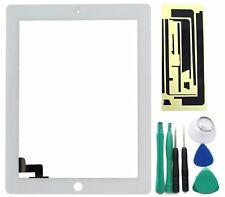 Apple iPad 2 vetro touchscreen A1396 BIANCO BIANCO+SET ATTREZZI+adesivo