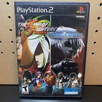 King of Fighters 02/03 (Sony PlayStation 2, 2005) PS2 COMPLETE & TESTED