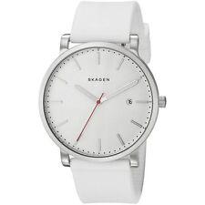 Skagen SKW6345 Men's Hagen White Silicone Strap Watch 40mm