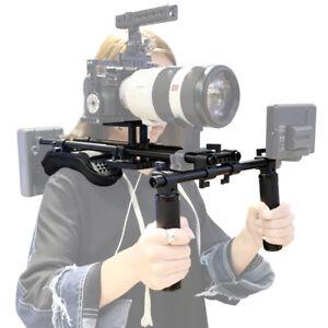 Niceyrig Camera Hand Holder w/Mount Support Rig Portable Pro Shoulder Pad Mount